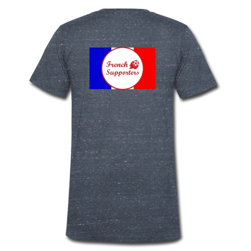 French supporters - T-shirt bio col V Stanley & Stella Homme