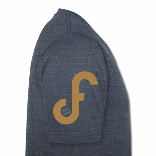 Exclusive FPLJournal Limited Edition in Gold - Men's Organic V-Neck T-Shirt by Stanley & Stella