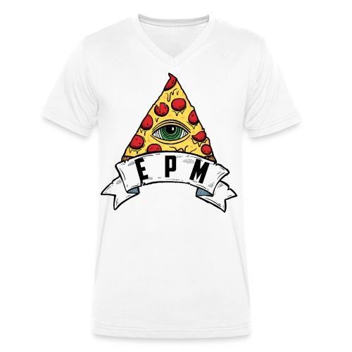 EPM - T-shirt ecologica da uomo con scollo a V di Stanley & Stella