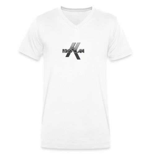 Kn9 Clan Cyberdesign - Männer Bio-T-Shirt mit V-Ausschnitt von Stanley & Stella