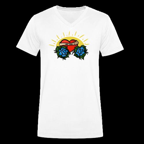me and i - Ekologisk T-shirt med V-ringning herr från Stanley & Stella