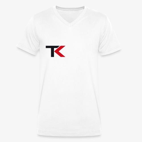 TK_Offcial - Männer Bio-T-Shirt mit V-Ausschnitt von Stanley & Stella