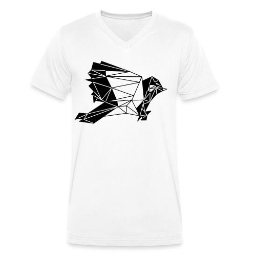 White Sparrow - Männer Bio-T-Shirt mit V-Ausschnitt von Stanley & Stella