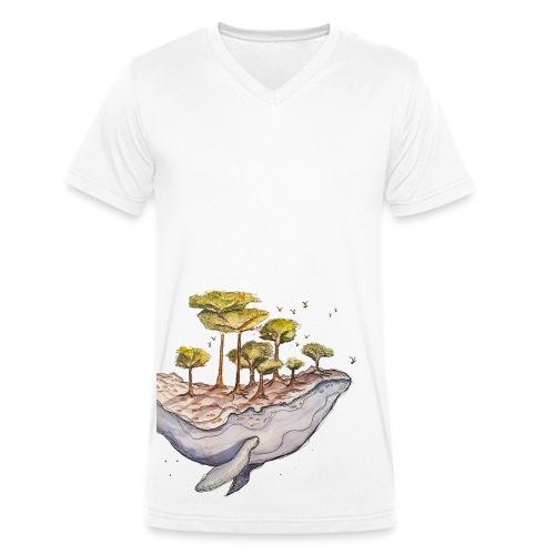 Mother Earth 2 - Männer Bio-T-Shirt mit V-Ausschnitt von Stanley & Stella