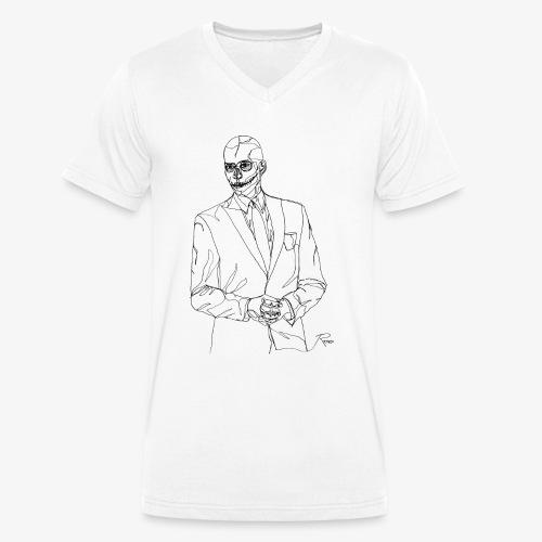 Business - Männer Bio-T-Shirt mit V-Ausschnitt von Stanley & Stella