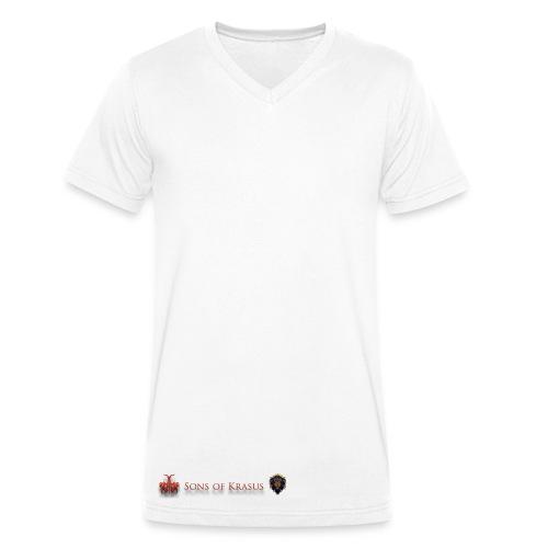 Sons of Krasus - T-shirt ecologica da uomo con scollo a V di Stanley & Stella