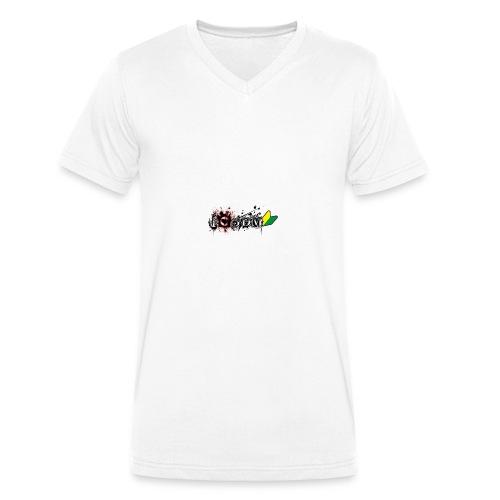 I Love JDM - Men's Organic V-Neck T-Shirt by Stanley & Stella