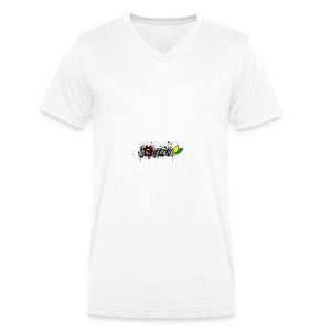 I Love JDM - Men's Organic V-Neck T-Shirt by Stanley & Stella