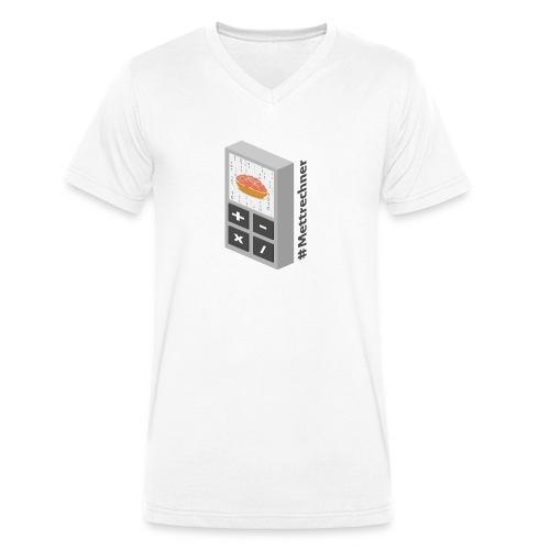 Mettrechner - Männer Bio-T-Shirt mit V-Ausschnitt von Stanley & Stella