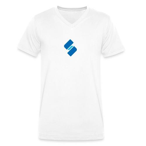 studitemps bildmarke rgb - Männer Bio-T-Shirt mit V-Ausschnitt von Stanley & Stella
