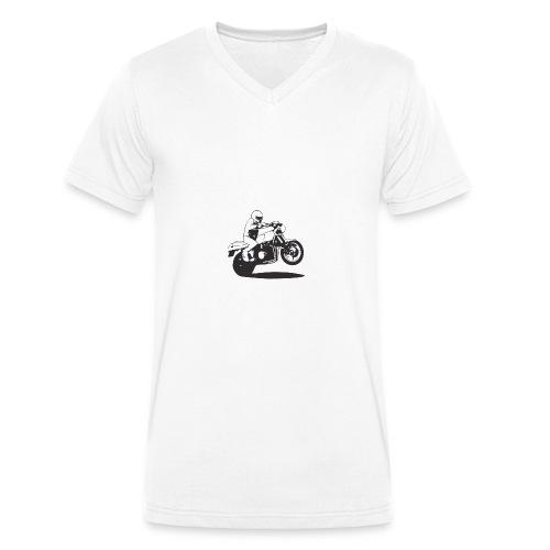 Wheelieking - Männer Bio-T-Shirt mit V-Ausschnitt von Stanley & Stella