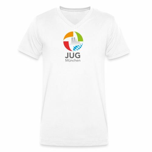 JUG Logo (color) - Männer Bio-T-Shirt mit V-Ausschnitt von Stanley & Stella