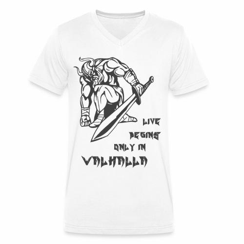 walhalla1 - Männer Bio-T-Shirt mit V-Ausschnitt von Stanley & Stella