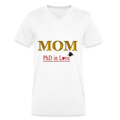 MOTHER'S DAY - Camiseta ecológica hombre con cuello de pico de Stanley & Stella
