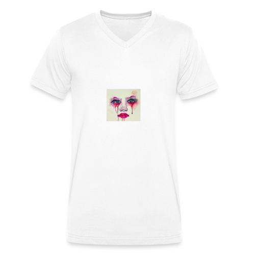 4-jpeg - Camiseta ecológica hombre con cuello de pico de Stanley & Stella
