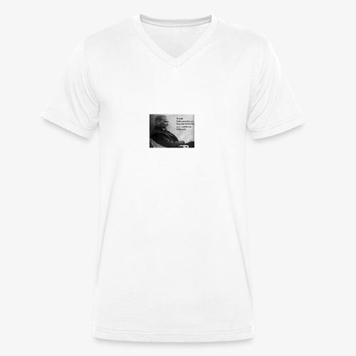 Mustafa kemal ataturk - Mannen bio T-shirt met V-hals van Stanley & Stella