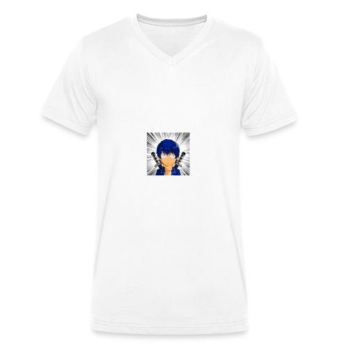 Profilbild design - Männer Bio-T-Shirt mit V-Ausschnitt von Stanley & Stella