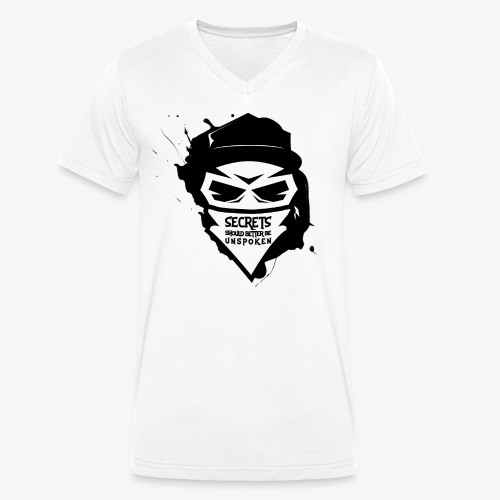Secrets - Männer Bio-T-Shirt mit V-Ausschnitt von Stanley & Stella