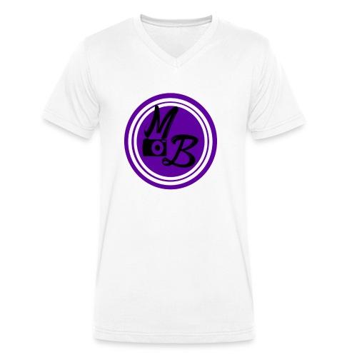 MirandaBos Merch - Mannen bio T-shirt met V-hals van Stanley & Stella