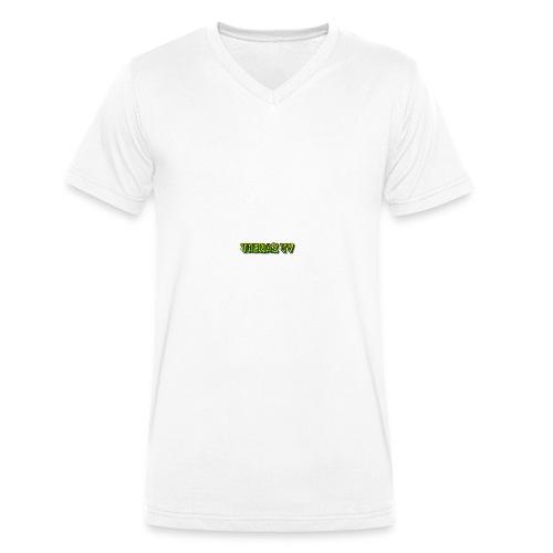 Maglietta Thenaz TV - T-shirt ecologica da uomo con scollo a V di Stanley & Stella