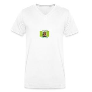 Armin Kraml AUGEUGOOE - Männer Bio-T-Shirt mit V-Ausschnitt von Stanley & Stella