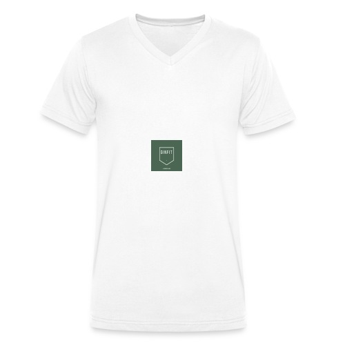 GINN - Men's Organic V-Neck T-Shirt by Stanley & Stella