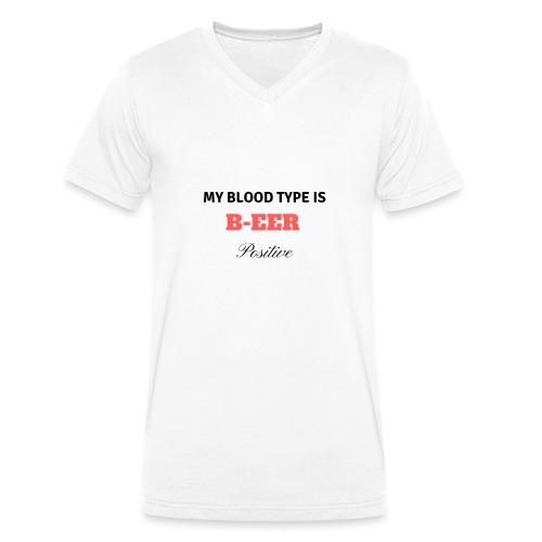 beer positive - T-shirt bio col V Stanley & Stella Homme