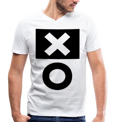 XO White - Männer Bio-T-Shirt mit V-Ausschnitt von Stanley & Stella