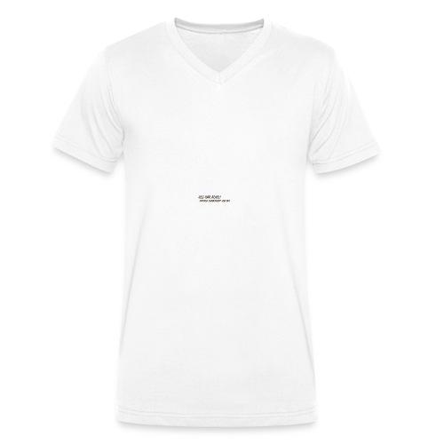 adhd3 - Økologisk Stanley & Stella T-shirt med V-udskæring til herrer