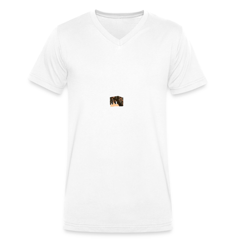 BCDC1F4E 4B1D 48B4 B018 27343354498A - Männer Bio-T-Shirt mit V-Ausschnitt von Stanley & Stella