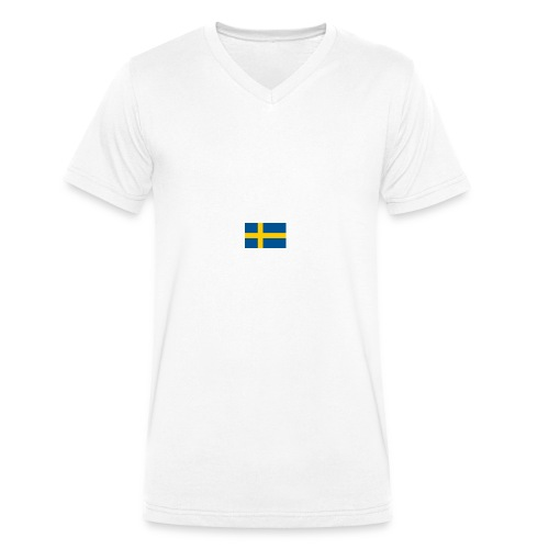 download - Ekologisk T-shirt med V-ringning herr från Stanley & Stella