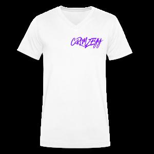 Brush Crimzeyy - Men's Organic V-Neck T-Shirt by Stanley & Stella