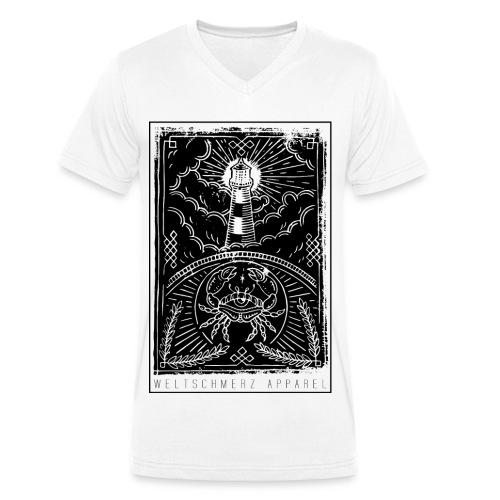 Küstenliebe - Männer Bio-T-Shirt mit V-Ausschnitt von Stanley & Stella