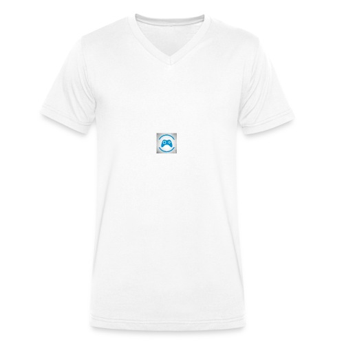 mijn logo - Mannen bio T-shirt met V-hals van Stanley & Stella