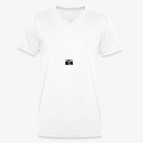 Football - Ekologisk T-shirt med V-ringning herr från Stanley & Stella