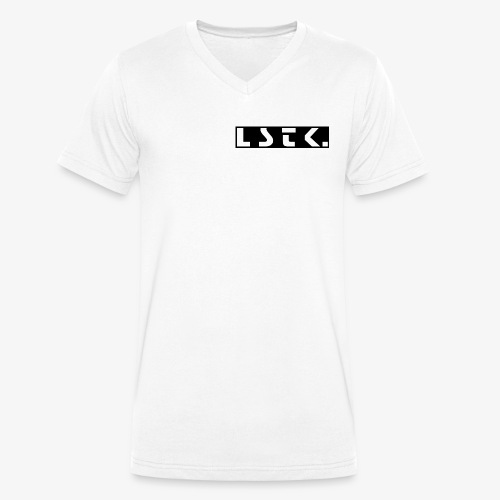 Lastik Simple Style - Männer Bio-T-Shirt mit V-Ausschnitt von Stanley & Stella