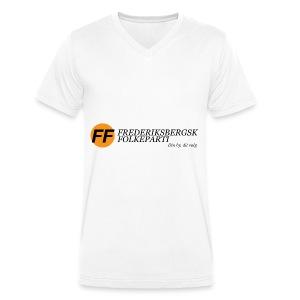Din by, dit valg - Premium - Økologisk Stanley & Stella T-shirt med V-udskæring til herrer