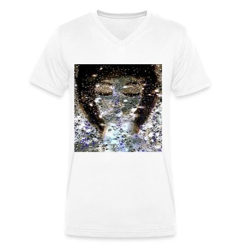 Délice de bulles - T-shirt bio col V Stanley & Stella Homme
