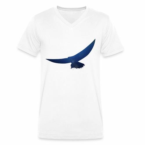 Abstrakter Adler - Männer Bio-T-Shirt mit V-Ausschnitt von Stanley & Stella