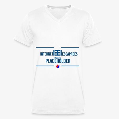 Placeholder - Økologisk T-skjorte med V-hals for menn fra Stanley & Stella