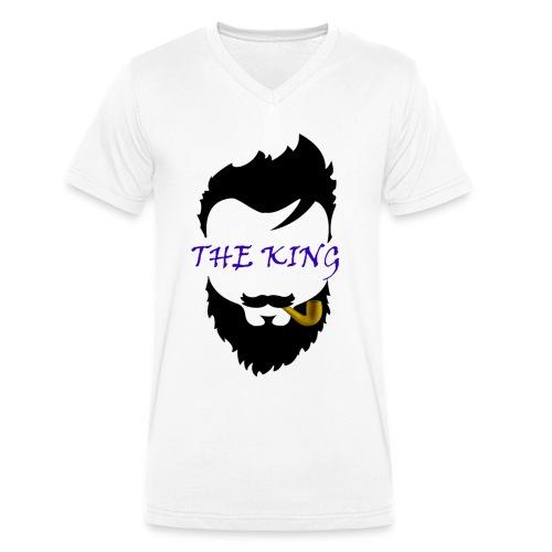 Bart T-shirt - Männer Bio-T-Shirt mit V-Ausschnitt von Stanley & Stella