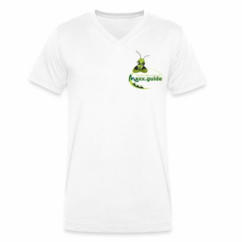 Freizeit.Neu.Erleben mit maxx.guide! - Männer Bio-T-Shirt mit V-Ausschnitt von Stanley & Stella