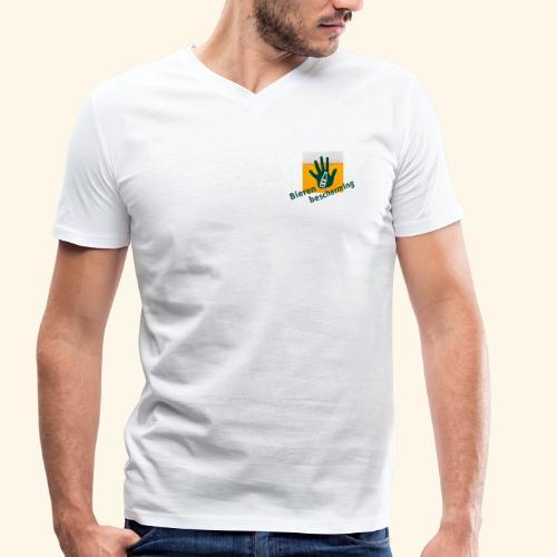 Bieren bescherming - Mannen bio T-shirt met V-hals van Stanley & Stella