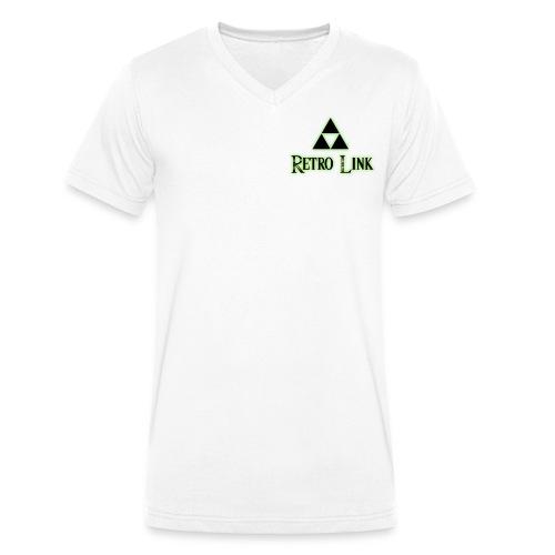 Logo Retro Link - T-shirt bio col V Stanley & Stella Homme