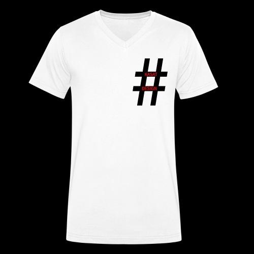hash - Männer Bio-T-Shirt mit V-Ausschnitt von Stanley & Stella
