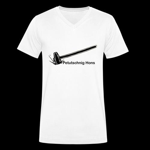Petutschnig Hons - Männer Bio-T-Shirt mit V-Ausschnitt von Stanley & Stella