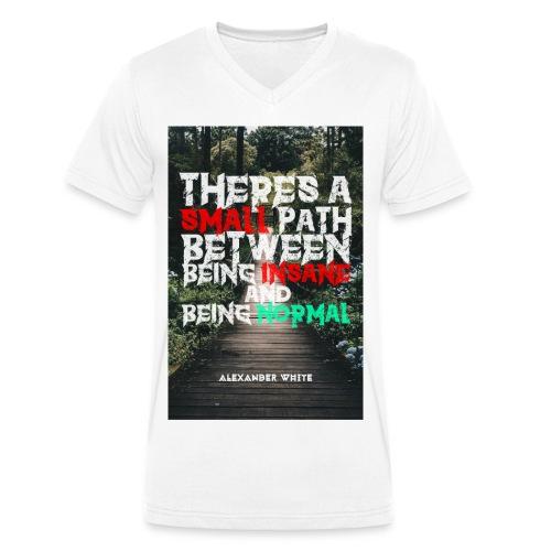 TASPBBIABN - Männer Bio-T-Shirt mit V-Ausschnitt von Stanley & Stella