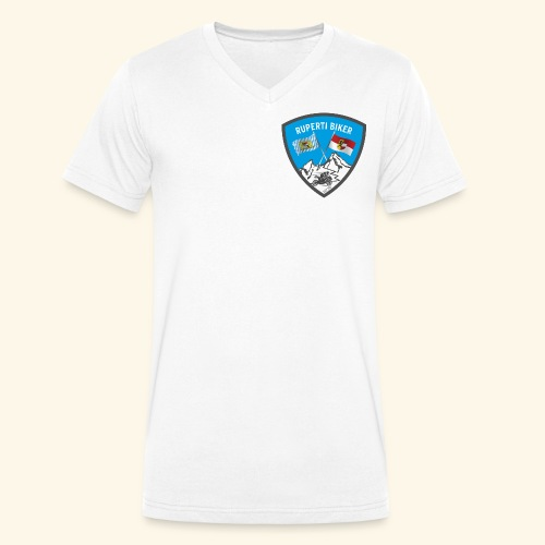 Ruperti Biker - Männer Bio-T-Shirt mit V-Ausschnitt von Stanley & Stella
