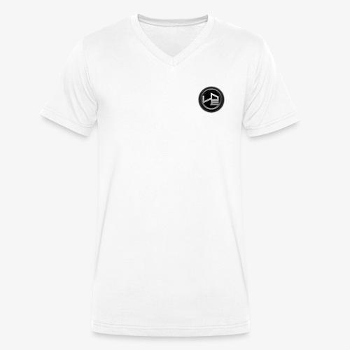LETHAL NATION LOGO KREIS - Männer Bio-T-Shirt mit V-Ausschnitt von Stanley & Stella