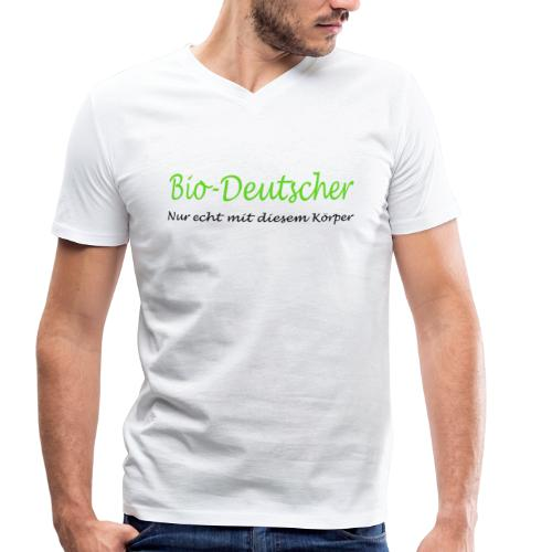 Bio-Deutscher - Männer Bio-T-Shirt mit V-Ausschnitt von Stanley & Stella